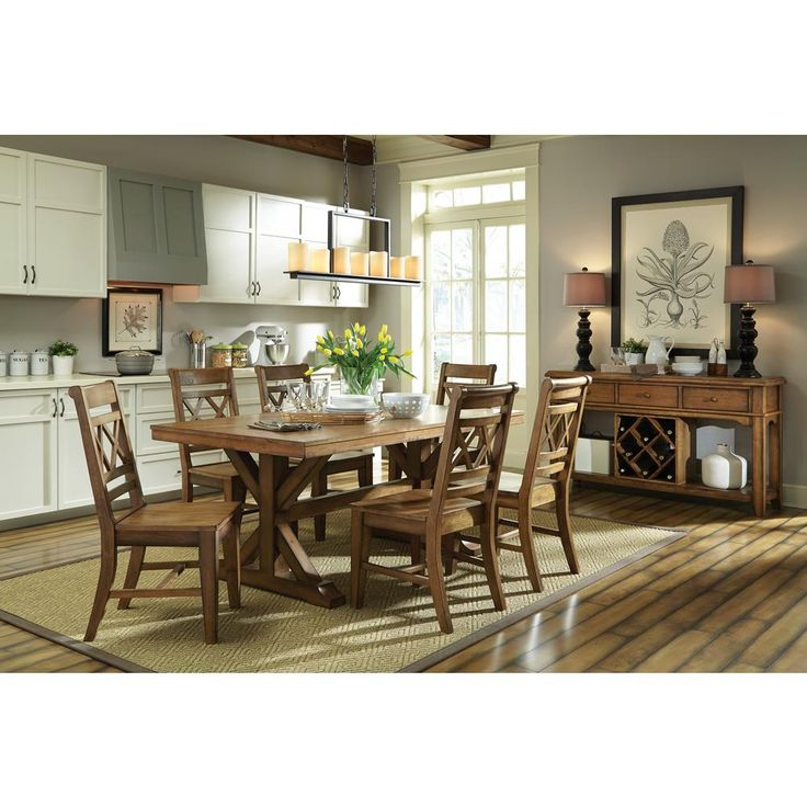 Canyon Unfinished Wood Double X Back Dining Chair Set Of 2