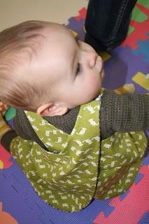 Pattern: Baby wrap dress | Leven met Liv