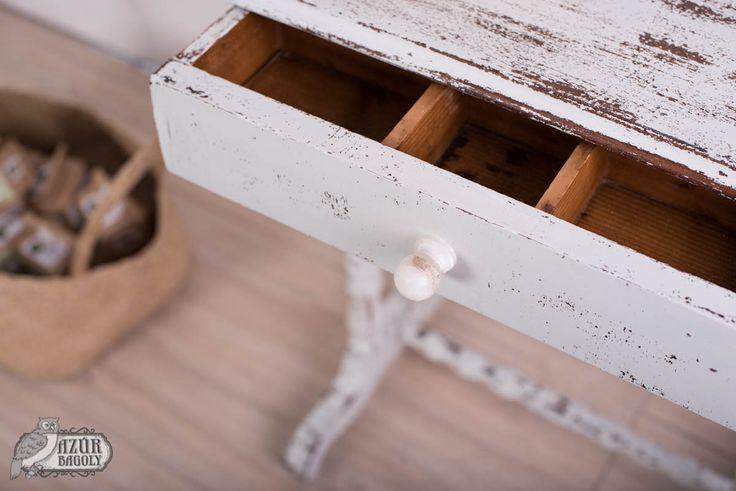 bútorfestés - útmutató - tejfesték - Azúr Bagoly