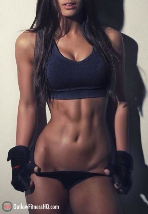 Motivation! Loving the toned definition without being overwhelming!