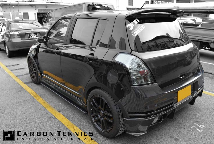 July 2014, Full carbon swift sports with TM style carbon fenders, CS style carbon hood and many other parts. Picture 10