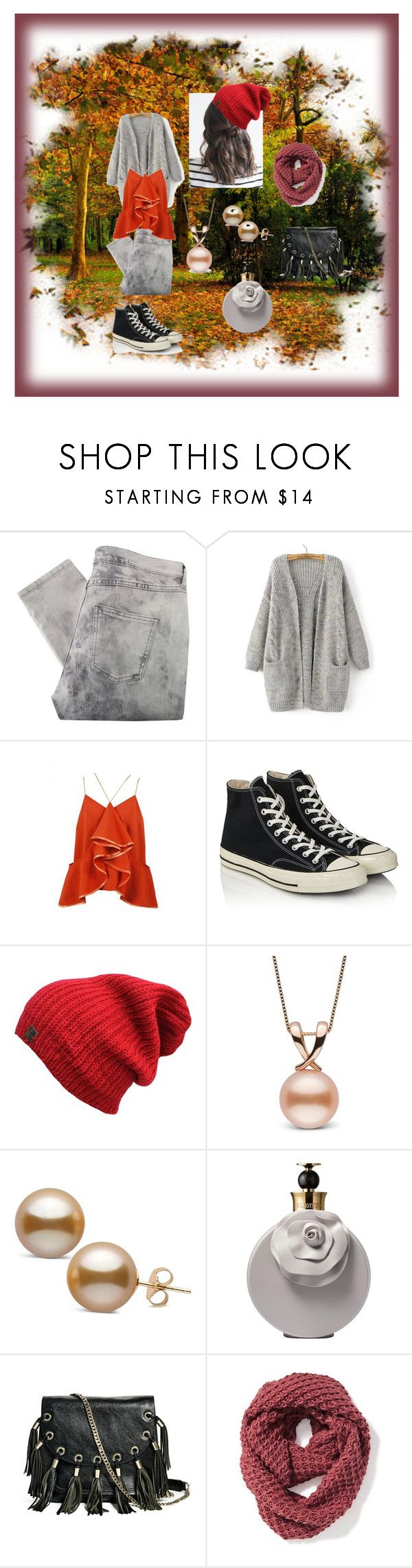 """Chic for the autumn"" by golosa ❤ liked on Polyvore featuring Maison Margiela, Converse, Valentino, GUESS by Marciano and Old Navy"
