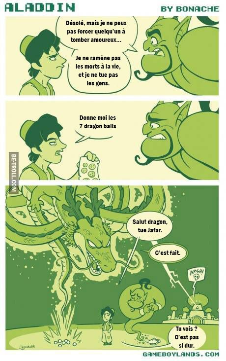 Shenron, tue Jafar !