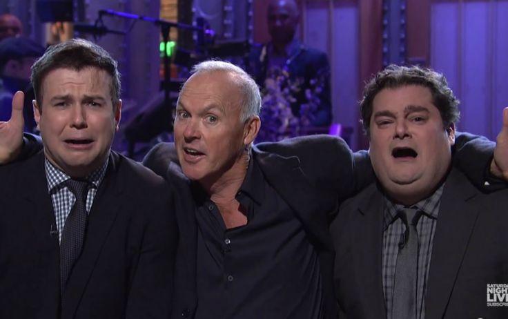 Watch Michael Keaton (sort of) bring back Batman, Beetlejuice on 'SNL'
