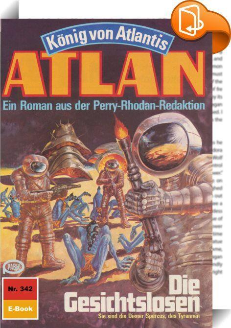 Atlan 342: Die Gesichtslosen (Heftroman)    :  Die Erde ist wieder einmal davongekommen. Pthor, das Stück von Atlantis, dessen zum Angriff bereitstehende Horden Terra überfallen sollten, hat sich dank Atlans und Razamons Eingreifen wieder in die unbekannten Dimensionen zurückgezogen, aus denen der Kontinent des Schreckens urplötzlich materialisiert war. Atlan und Razamon, die die Bedrohung von Terra nahmen, gelang es allerdings nicht, Pthor vor dem neuen Start zu verlassen. Der ungebet...