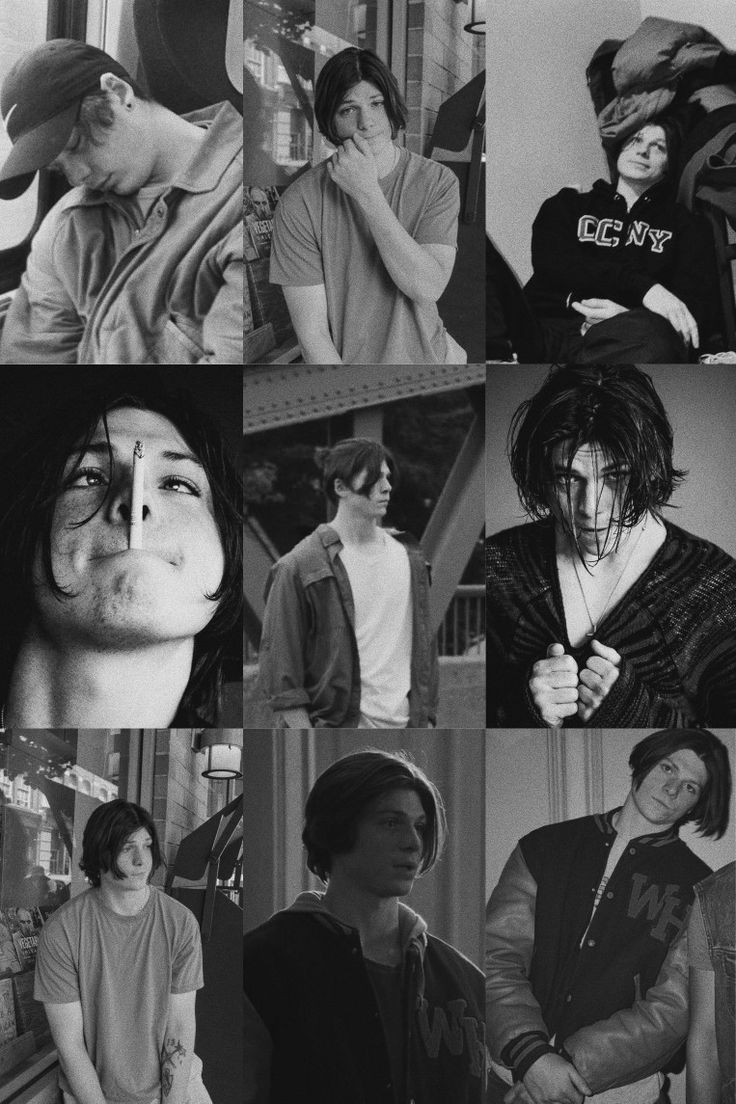 Jack mulhern in B&W hits different in 2020 Society, Top
