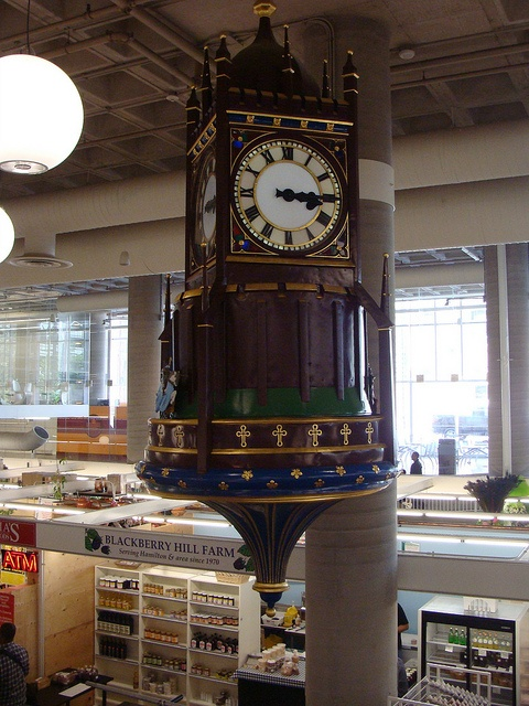 Birks Clock, Hamilton Market, Hamilton, Ontario, Canada by cartoonist2006, via Flickr. I loved to watch this clock when l was a kid growing up in Hamilton. :))