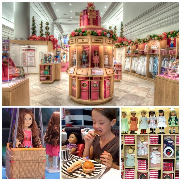 American Girl Place in Chicago, Illinois | 17 Toy Stores That Will Change Your Kids' Lives