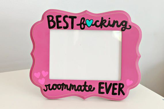 roommate frame roommate picture frame roommate gift