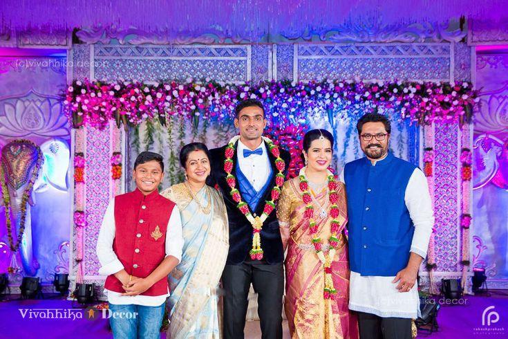 Radhika#sarath kumar#daughter#wedding www.shopzters.com