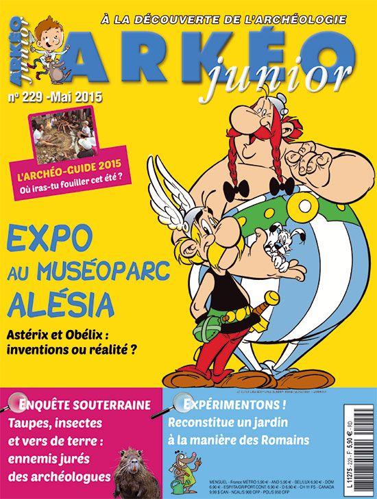 Astérix et Obélix : inventions ou réalité ? | Arkéo Junior n° 229