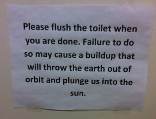 Best Toilet Notices Images On Pinterest Toilets Funny Shit
