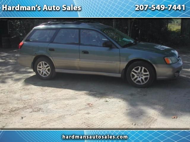 Used 2002 Subaru Outback Wagon w/ All-weather Package for Sale in Whitefield  ME 04353 Hardman's Auto Sales