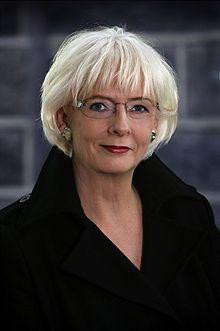 Jóhanna Sigurðardóttir - Prime Minister of Iceland.  She became Iceland's first female Prime Minister, and the world's first openly lesbian head of government on February 1, 2009.