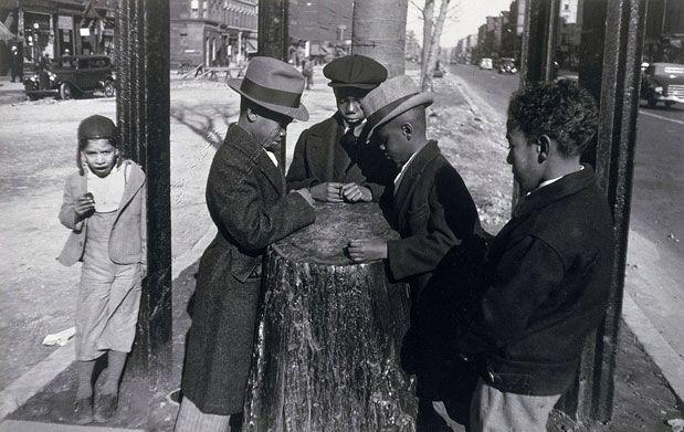 Aaron Siskind The Wishing Tree, Harlem, New York 1937