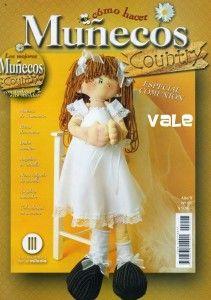Como hacer muñecos Country, es una revista fabulosa que te enseñara hacer este tipo de muñecos tan especial. En esta ocasión te enseñara como hacer una muñeca de comunión, una dulce monjita, una nena colgada en una estrella y algunas muñecos country mas que te encantaran.