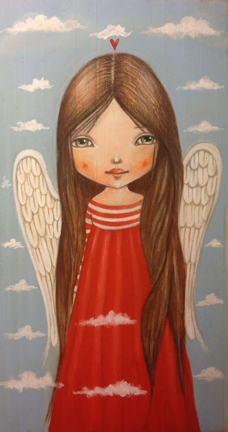 25+ best Angel illustration ideas on Pinterest