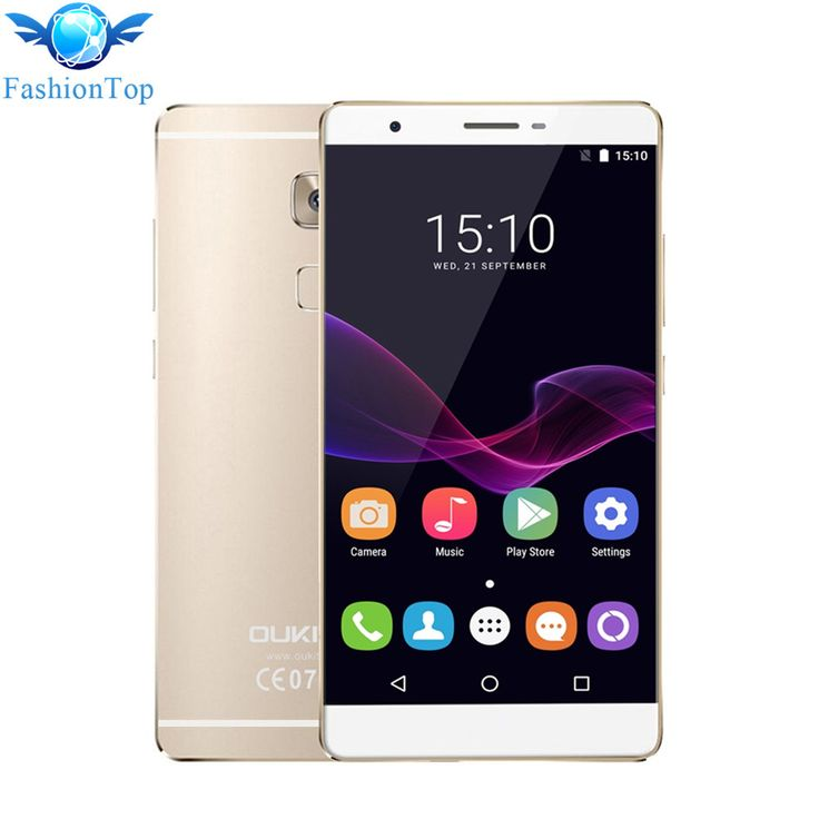 Original Oukitel U13 5.5» Smartphone Android 6.0 MTK6753 Octa Core 1.3GHz 4G Mobile Phone 3G RAM 64G ROM Fingerprint Cellphone