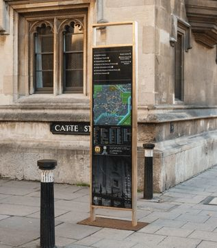 Sectors | City Centres | Oxford | Wood&Wood Signs