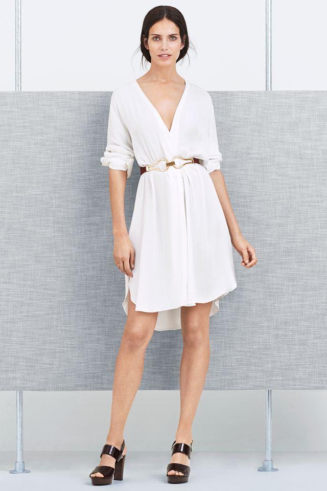 Lrg og icon gold white dress