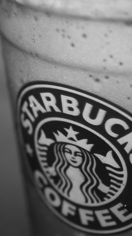 #iPhone_wallpaper #iPhone #black&white #Starbucks