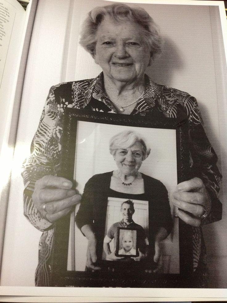 Vier generatie foto zelf gemaakt.
