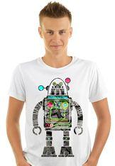 Saturn Robot T Shirt