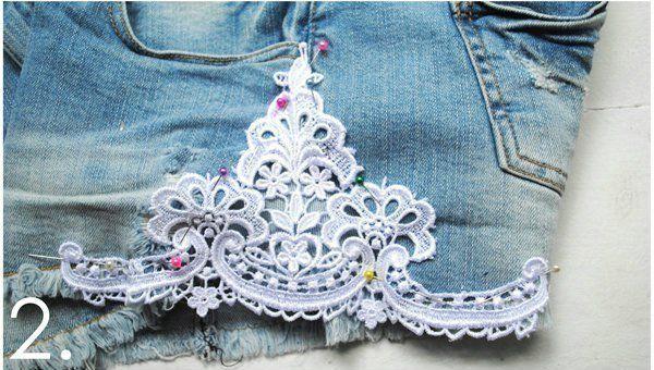 Как переделать старые джинсы в стильные весенние шорты
