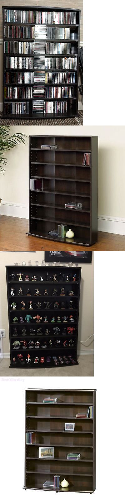 Media Cases and Storage: Media Tower Rack Shelf Cabinet 426 Cd 280 Dvd Game Case Storage Stand Organizer -> BUY IT NOW ONLY: $64.99 on eBay!