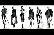 Fashion Illustrations by Paula Cheng