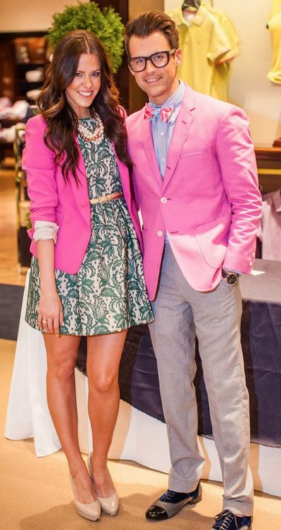 pinkLight Pink Blazers, Courtney Kerr, Dressy Dresses, Brooks Brother, Courtney Love, Hot Pink, Brad Goreski, Girls Outfit, Pink Blazers
