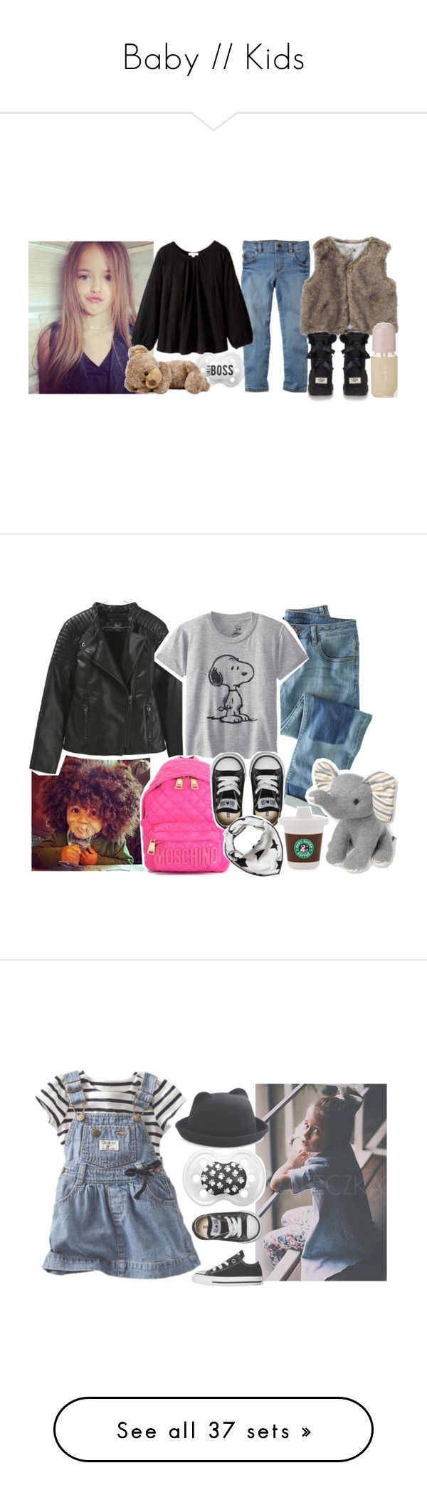 """""""Baby // Kids"""" by iarsotelo ❤ liked on Polyvore featuring Carter's, Appaman, UGG Australia, Dolce&Gabbana, beauty, Wrap, Zara, Moschino, Converse and Molo"""