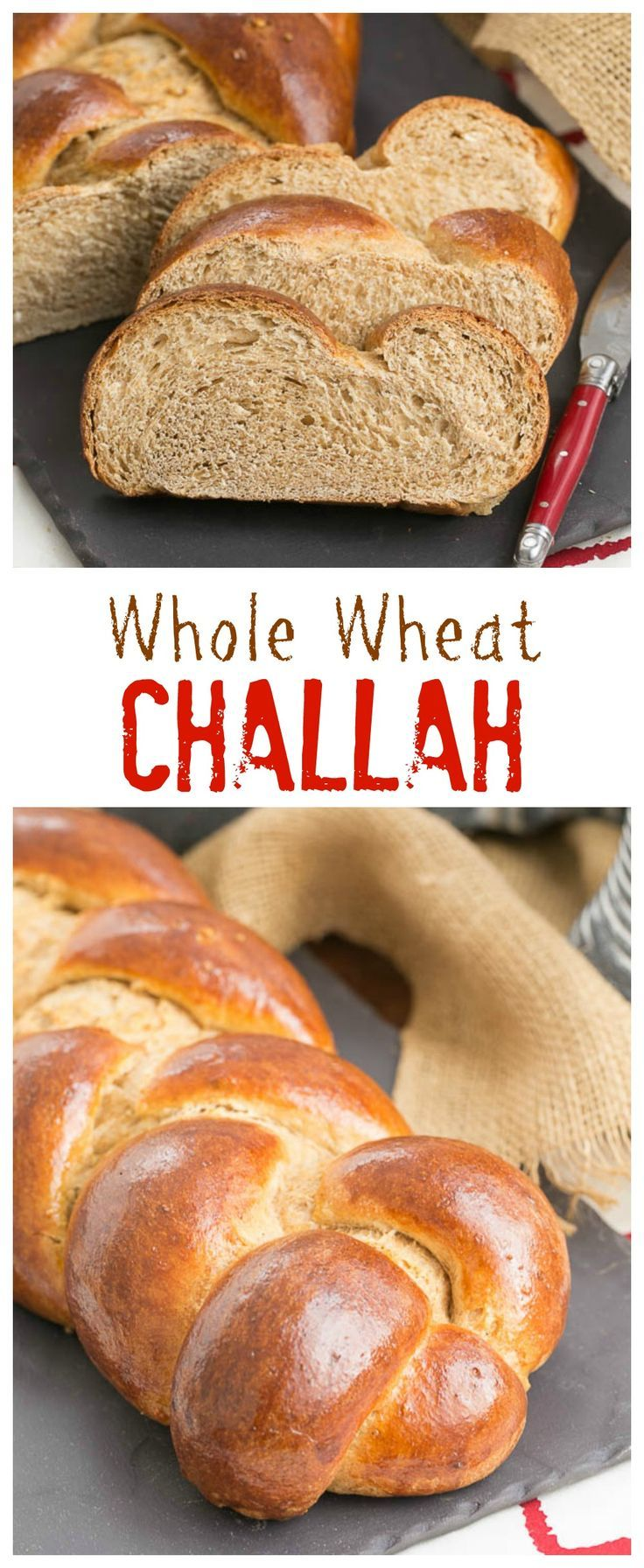 Whole Wheat Challah | Eggy, tender with the bonus of whole wheat ...