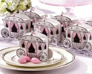 'Enchanted Carriage' Favour Box
