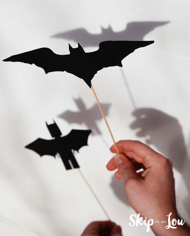 Free printable lego batman shadow puppets