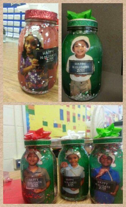 Mason jar snowglobes | Christmas craft ideas(kids) | Pinterest | Jar, Mason jar picture and Craft