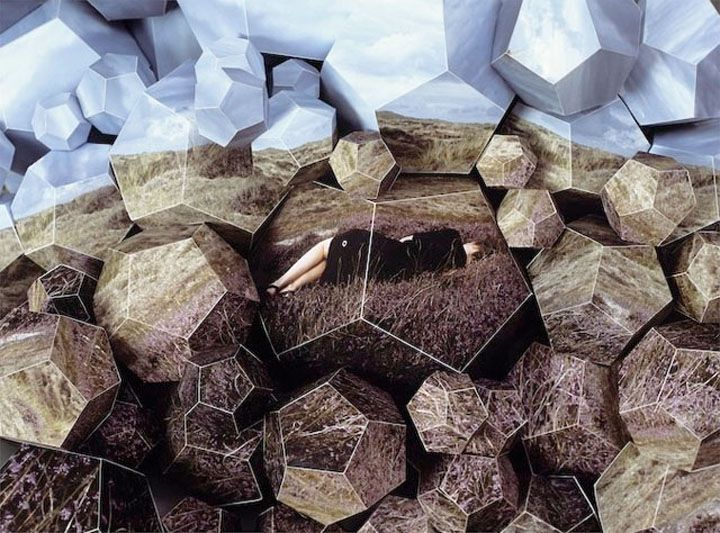Sculptural photography by Szymon Roginski and Kasia Korzeniecka