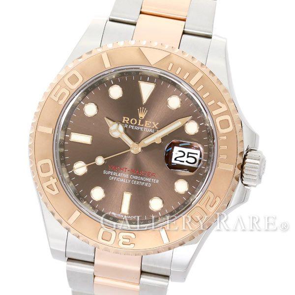 ロレックス ヨットマスター40 チョコレートブラウン ランダムシリアル ルーレット 116621 ROLEX 腕時計