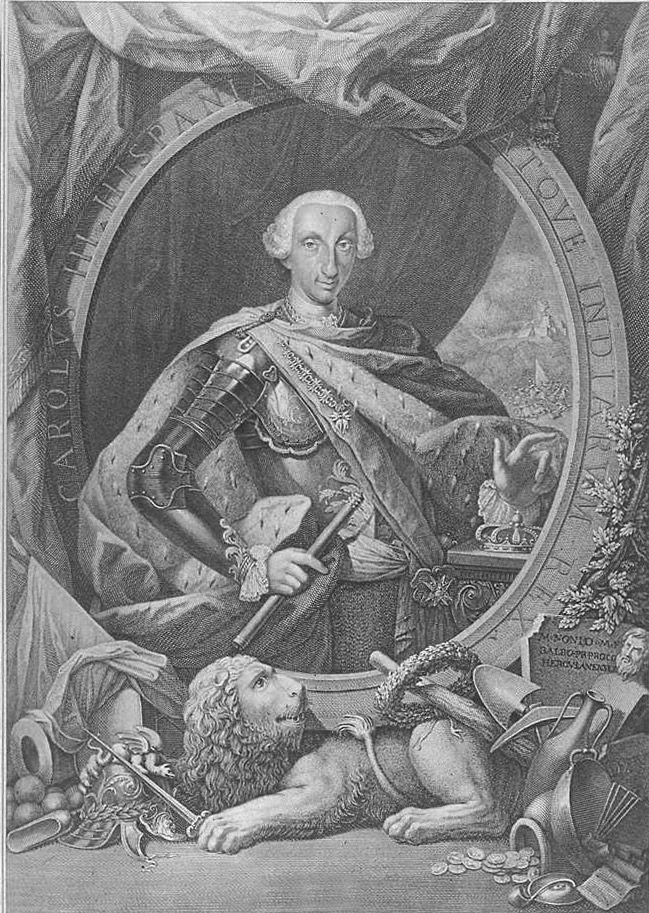 La subida al trono de Carlos III, hijo de Isabel y definitivo impulsor de la capitalidad de Madrid y la llegada de la ilustración cambio todos los planes