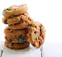 Recette - Cookies M&MS pour enfants - Notée 4.8/5 par les internautes