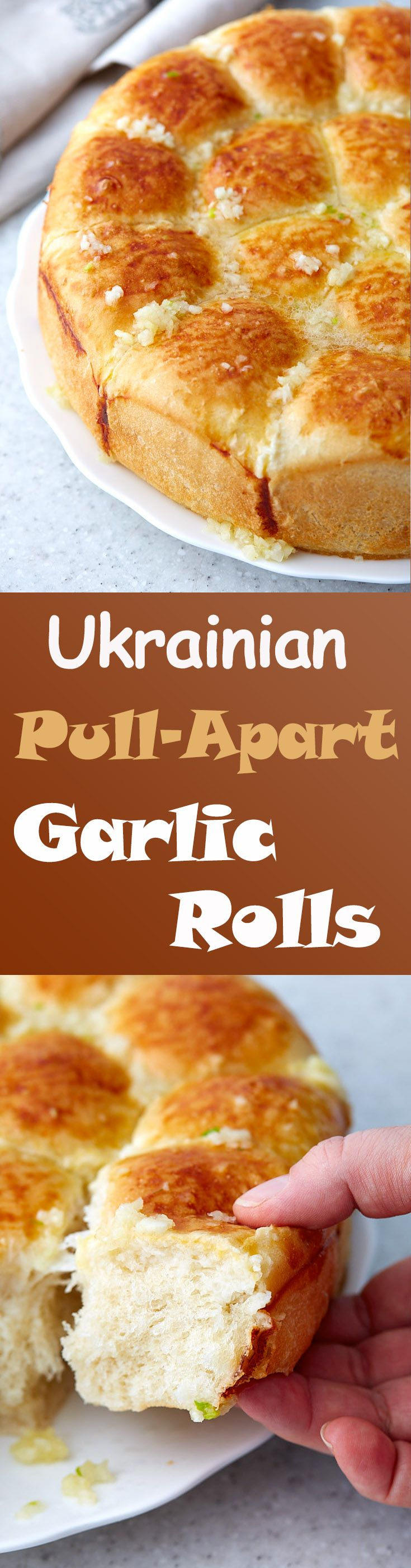 These pull-apart garlic rolls are soft, flavorful and are very easy to prepare. They are a great addition to lunch or dinner. Delicious and addictive!