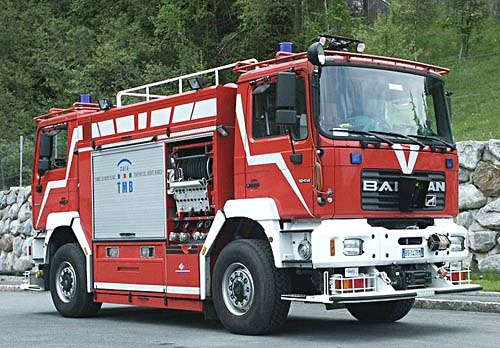 Janus 4000 Fire Engine built by BAI of Italy