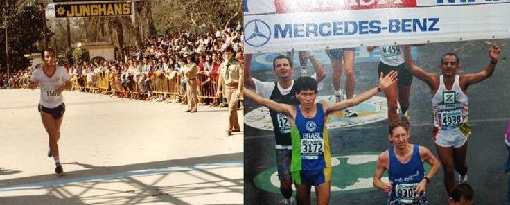 Julio Molina a por su 33 Maratón de Sevilla y a por su 82 maratones totales.