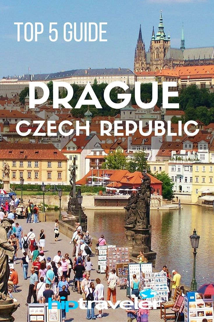 A Top 5 Guide to Prague, Czech Republic | This Czech Republic city offers beautiful architecture, easy day trips and delicious food | HipTraveler: