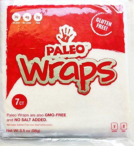 Julian Bakery Paleo Wraps, Gluten Free Coconut Wraps, 7-Count