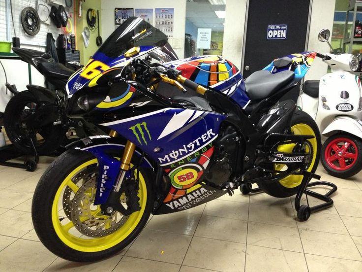 Yamaha R1 Rossi Edition « Samuxx Design