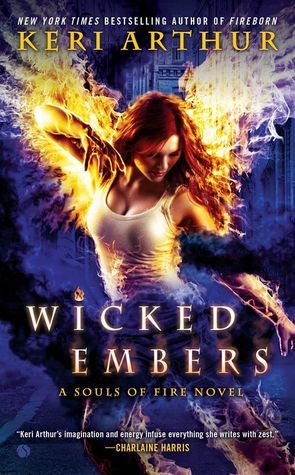 Wicked Embers (Souls of Fire #2) by Keri Arthur | Designed by Tony Mauro | July 7th 2015 from Signet Select #UrbanFantasy