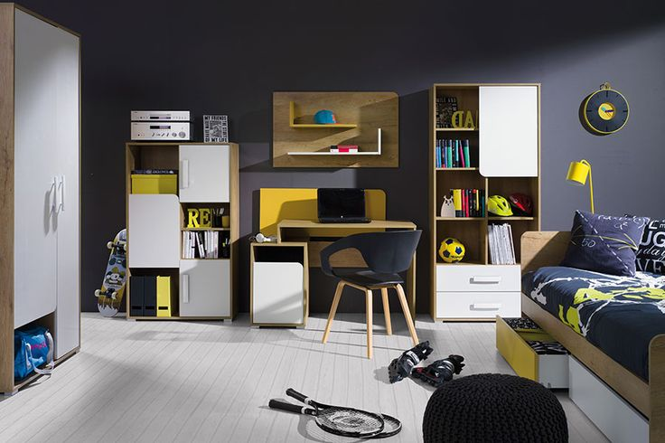 What furniture into the room of the teenager? See youth furniture Fleece! Jakie meble do pokoju nastolatka? Zobacz meble młodzieżowe Runo!  #teenager #kidsroom #modernfunitures #fullofcolours #mirjan24 #bed #bedroom #kids