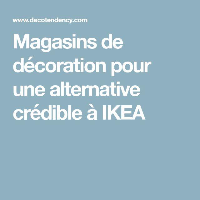 Magasins de décoration pour une alternative crédible à IKEA