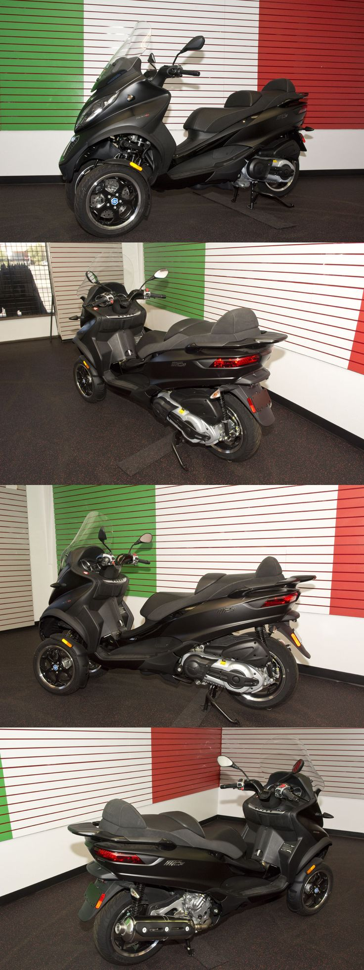 motorcycles And scooters: New! Piaggio Mp3 500 Sport Black With Full Factory Dealer Warranty -> BUY IT NOW ONLY: $7560 on eBay!